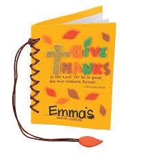give thanks prayer journal craft kit craft kits journal and craft