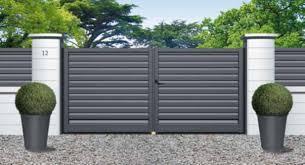 portails de jardin portails et jardins vos projets de menuiseries extérieures