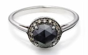 sheffield engagement rings sheffield black and chagne engagement ring