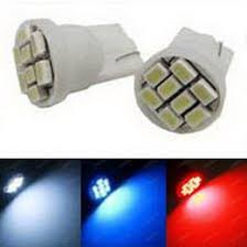 Bulbs For Bright 8 Smd T10 168 194 2825 Led Bulbs For Parking Lights