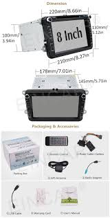 eincar online android 6 0 car dvd player fits for volkswagen