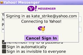 cara membuat yahoo mail di blackberry yahoo messenger blackberry world