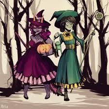 Jade Halloween Costume Illustration Homestuck Jade Harley Halloween Feferi Peixes