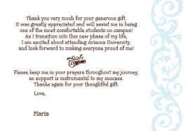 graduation thank you letters about letter format