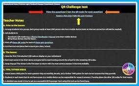 how to easily create a qr code scavenger hunt the esl nexus