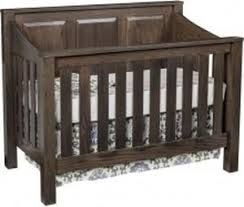 Non Convertible Crib Cribs Amish Organic Nest
