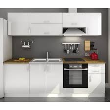 cuisine compl鑼e pas ch鑽e cuisine americaine blanc laqué photos de design d intérieur et