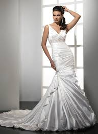 satin mermaid wedding dress biwmagazine com