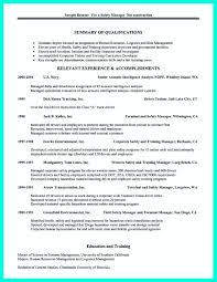 Sample Resume Construction by Safety Manager Resume For Construction Virtren Com