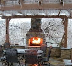 gazebo fireplace design plans brick outdoor kitchen ideas deck to