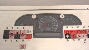volvo s70 dashboard warning lights u0026 symbols youtube