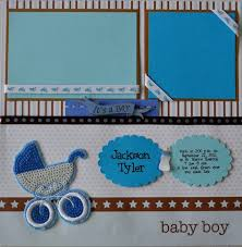 baby boy scrapbook album 94 best scrapbooking baby boy images on scrapbooking