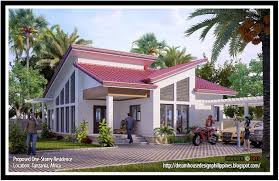 gallery of simple bungalow house design in the philippines