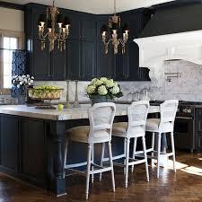 Grey Blue Cabinets Blue Island Corbels Design Ideas
