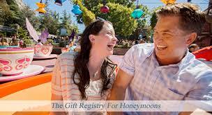 vacation registry wedding disney s fairy tale weddings honeymoons honeymoon registry