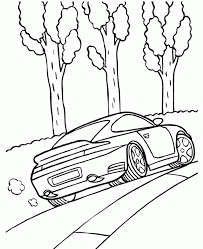 porsche 911 turbo coupe coloring porsche car coloring pages