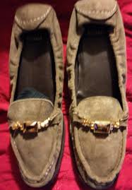womens moccasin boots size 11 stuart weitzman size 11 womens suede buckle loafer shoes stuart