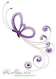 butterfly swirls colourful design projects for