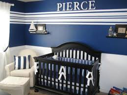nautical design baby baby nursery gorgeous baby room design with black crib and blue