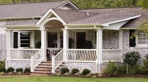 pictures on front porch designs for brick homes free home