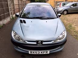 used peugeot dealers 2004 peugeot 206 1 4 se only 60 000 miles full peugeot dealer