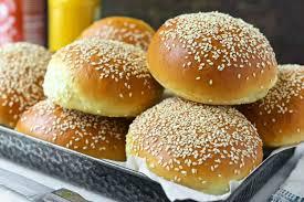 How To Use The Bread Machine Beautiful Burger Buns Recipe King Arthur Flour