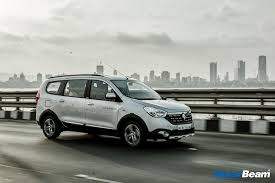 2017 renault lodgy stepway first drive review motorbeam indian