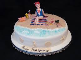 beach theme 70th birthday cake cakecentral com