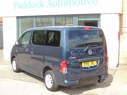 nissan nv200 second hand nissan nv200 1 5 dci se disabled wheelchair adapted