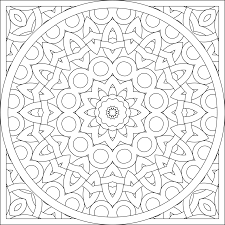 stunning decoration kaleidoscope coloring pages 3745 coloring pages
