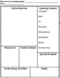 print creative curriculum lesson plan bing images u2026 pinteres u2026