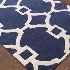 Cream And Blue Rug Navy Blue And White Area Rugs Rugs Decoration