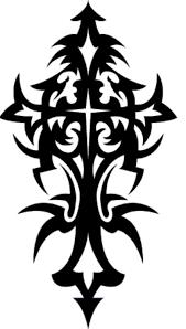 tattoo cross tribal design cross tribal tattoo designs best tattoo design