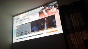 3d home theater projector quick sample movie and gaming video on benq w1070 1080p 3d home