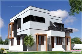 1627 square feet modern villa exterior house design plans