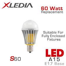 led light bulbs for enclosed fixtures a15 led light bulb e17 base led bulb earthled com