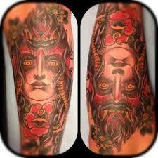 smiling devil tattoo buscar con google face 1 pinterest