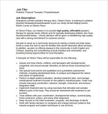 physical therapist job description u2013 craftbrewswag info