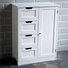 with wooden pattern white s to make a clutter white bathroom
