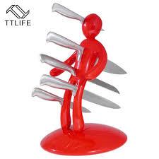 Magnet For Kitchen Knives Ttlife Creative Humanoid Stainless Steel Magnet Knife Holder Rack