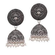 handmade designer jewellery v l impex handmade designer traditional oxidised silver plated
