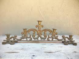 Candelabra Home Decor Vintage Heavy Cast Iron Candle Holder Spanish Gothic Home Decor