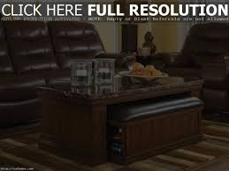coffee table coffee table round with seats underneath ottoman