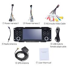 core 2002 2007 jeep liberty android 7 1 1 radio gps navigation