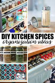 kitchen spice organization ideas 268 best home organization ideas images on