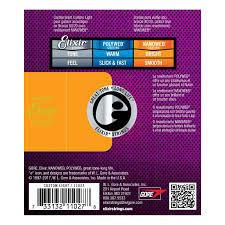 elixir e11027 nanoweb custom light acoustic strings 11 52 at