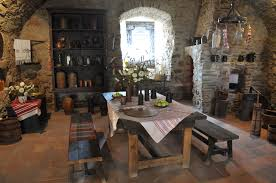 inside medieval castles also pass by several medieval era body
