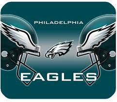 cool design nfl philadelphia eagles rectangle mouse pad made of