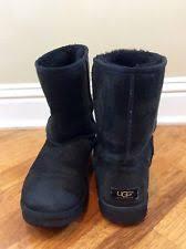 ugg s klarissa boots ugg meilani 1012981 blk black sheepskin suede winter boots