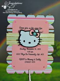 jingvitations hello kitty baby shower baptism birthday invitations